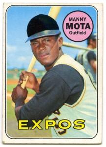 Manny Mota 1969 Topps