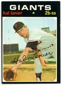 Hal Lanier 1971 Topps