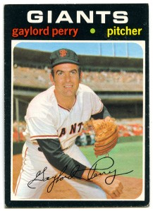 Gaylord Perry 1971 Topps