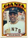 Willie Mays 1972 Topps