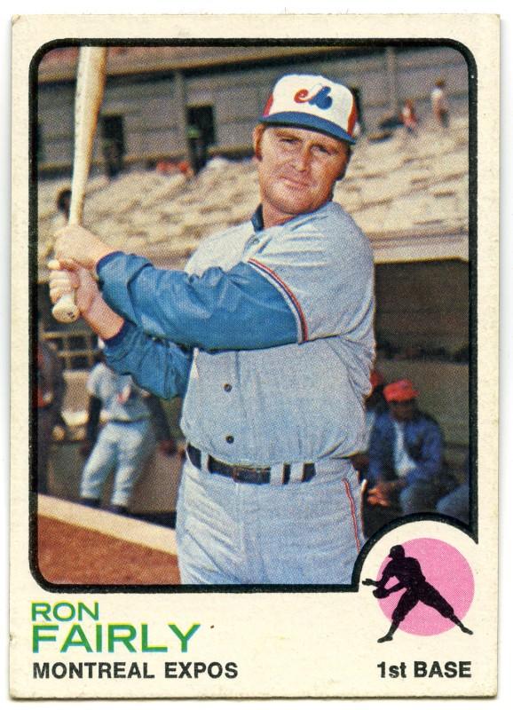 Ron Fairly 1973 Topps