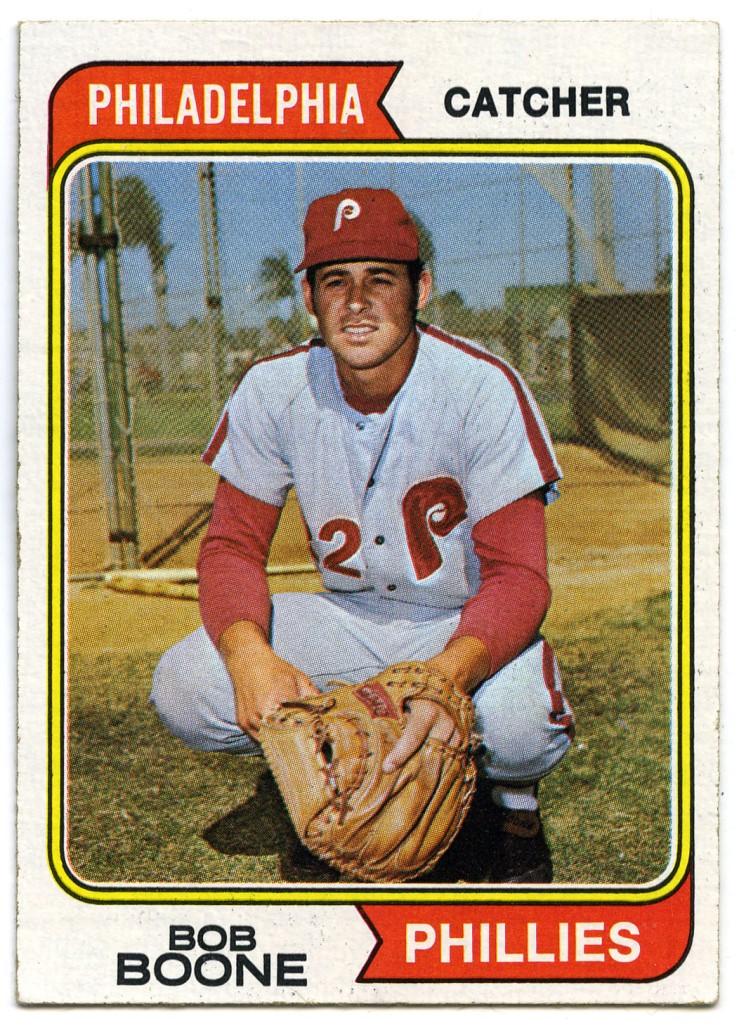 Bob Boone 1974 Topps