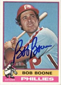 Bob Boone 1976 Topps