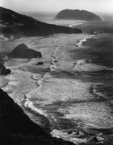 Ansel Adams Point Sur, Storm, Big Sur, CA, 1946