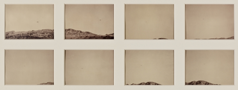 Trevor Paglen. Time Study (Predator; Indian Springs, NV).