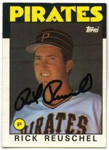 Rick Reuschel 1986 Topps