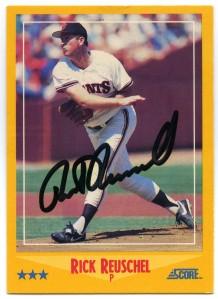 Rick Reuschel 1988 Score
