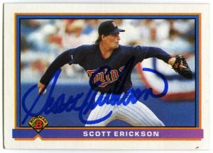 Scott Erickson 1991 Bowman