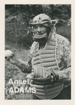 Mike Mandel, Baseball-Photographer Trading Cards, 1975