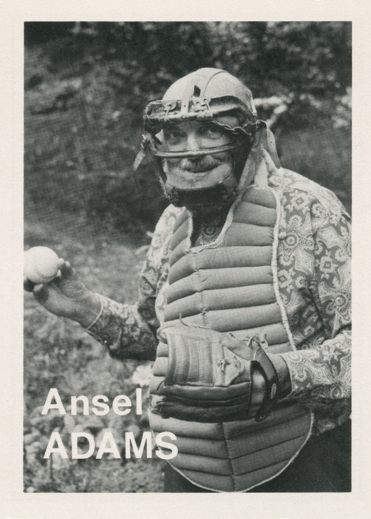 Mike Mandel, Baseball-Photographer Trading Cards, 1975