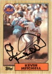 Kevin Mitchell 1987 Topps