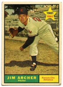 Jim Archer 1961 Topps