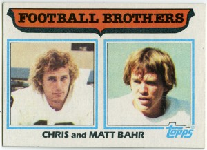 Football Brothers: Chris and Matt Bahr