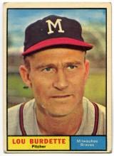 Lew Burdette 1961 Topps
