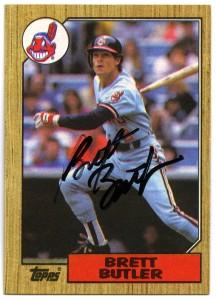 Brett Butler 1987 Topps