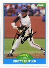 Brett Butler 1989 Score