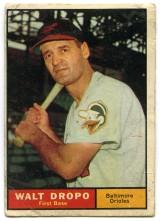 Walt Dropo 1961 Topps