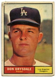 Don Drysdale 1961 Topps