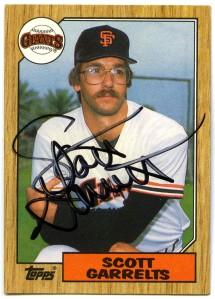 Scott Garrelts 1987 Topps