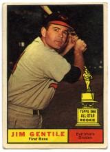 Jim Gentile 1961 Topps