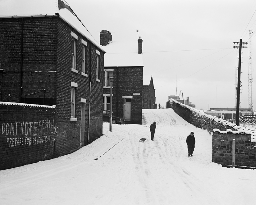 Terraced Housing, Wallsend, Tyneside; Chris Killip