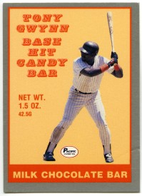 Tony Gwynn Base Hit Candy Bar