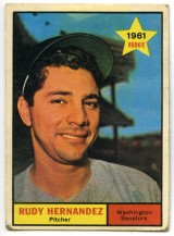 Rudy Hernandez 1961 Topps