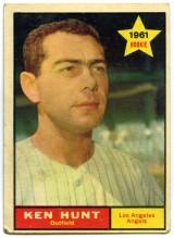 Ken Hunt 1961 Topps