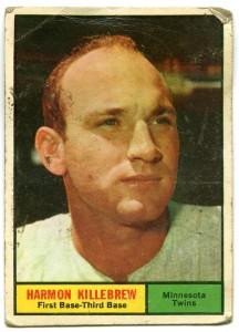 Harmon Killebrew 1961 Topps