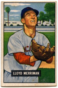 Lloyd Merriman 1951 Bowman