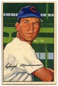Lloyd Merriman 1953 Bowman
