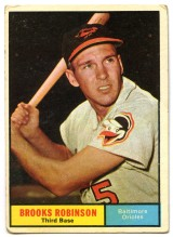 Brooks Robinson 1961 Topps
