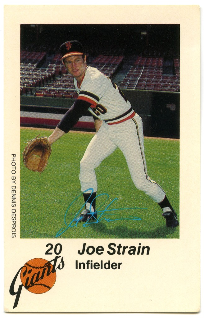 Joe Strain 1980 KNBR San Francisco Police Department