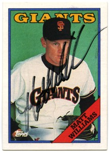 Matt Williams 1988 Topps