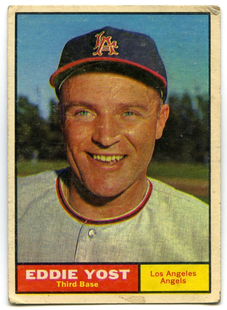 Eddie Yost 1961 Topps