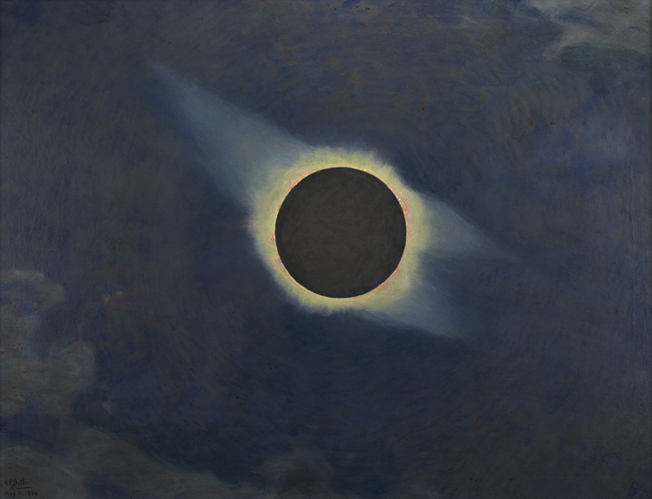 Howard Russell Butler. Solar Eclipse, 1932, 1932.