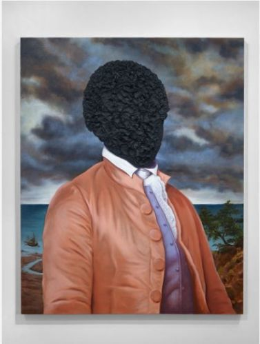 Titus Kapha. Billy Lee: Portrait in Tar, 2016
