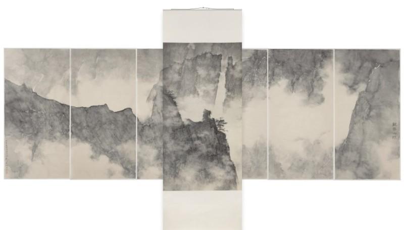 Li Huayi, Dragons Hidden in Mountain Ridge, 2008.