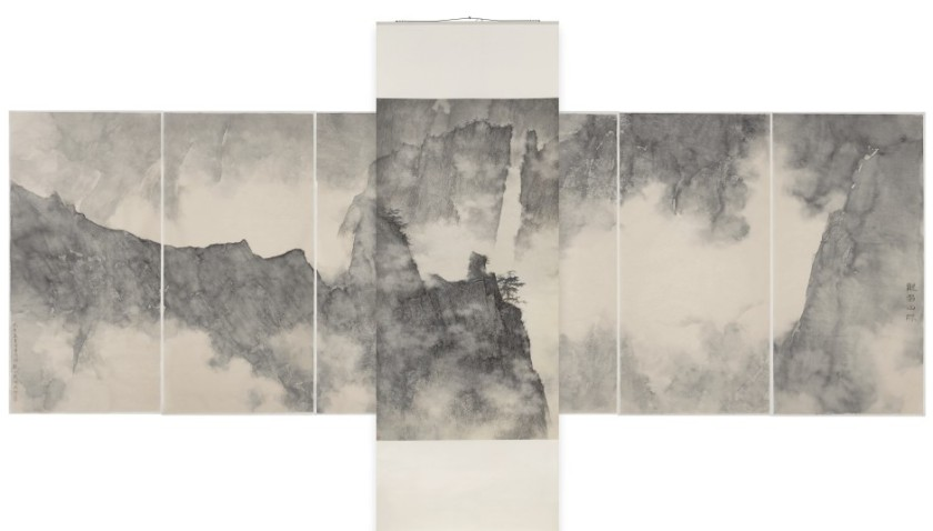 Li Huayi, Dragons Hidden in Mountain Ridge, 2008.