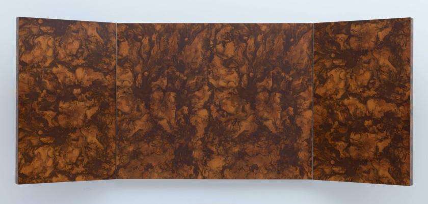 Richard Artschwager. Triptych III, 1967.