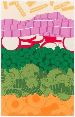 Stephen Frykholm, Herman Miller Summer Picnic poster, 1982