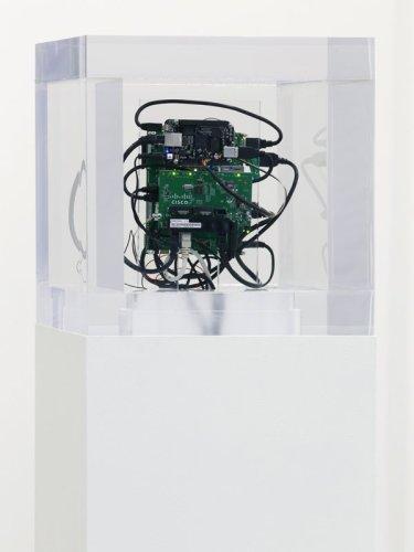 Trevor Paglen. Autonomy Cube, 2014.