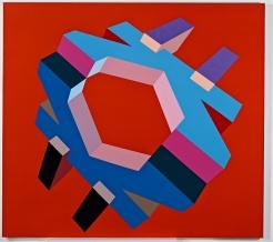 Miriam Schapiro, Docking #1, 1969