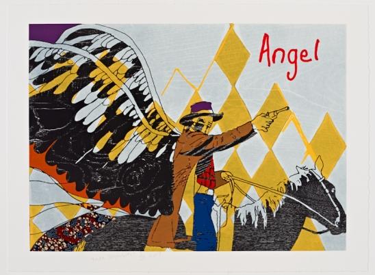 Yinka Shonibare MBE, Cowboy Angel V, 2017